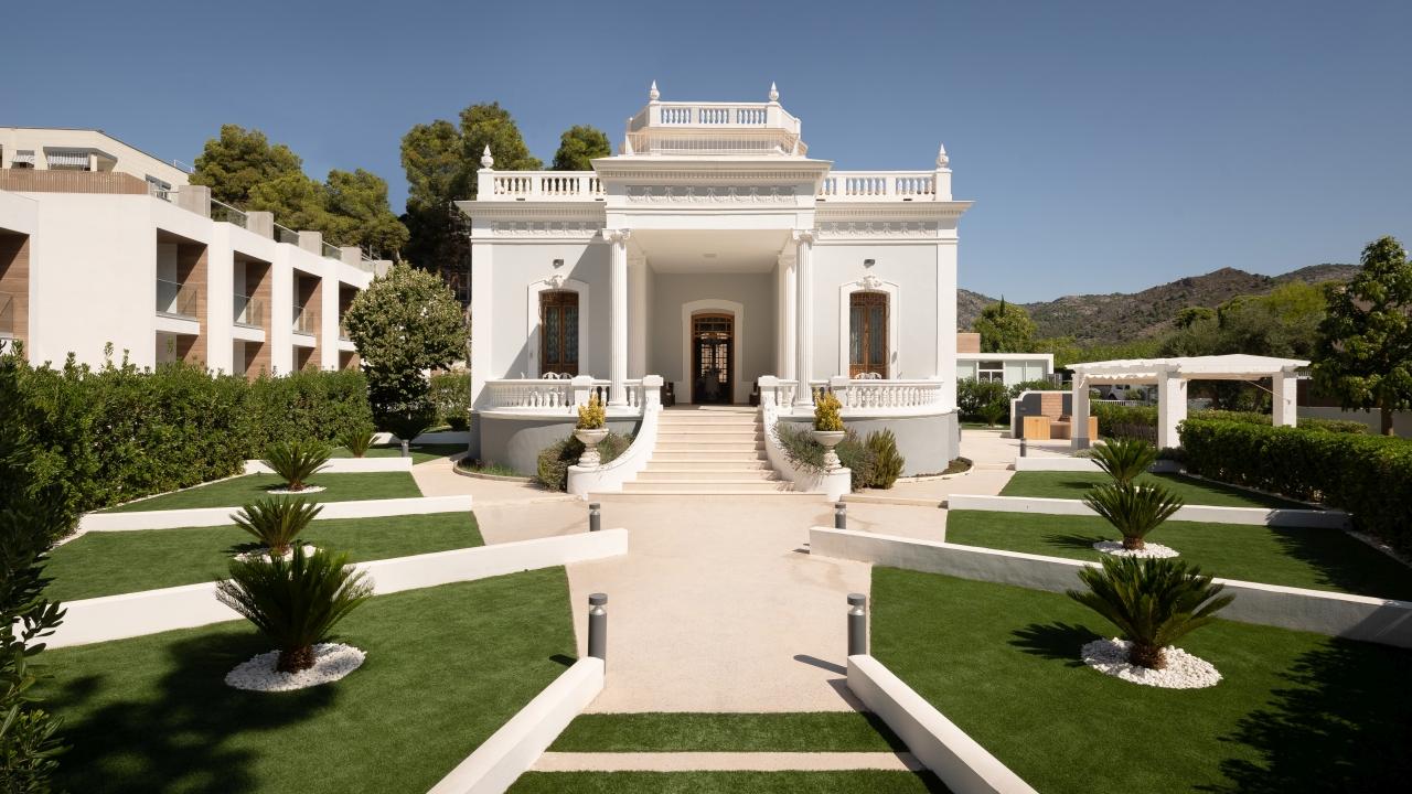 Progetto di recupero Finca Los Pinos: Hotel e Villa