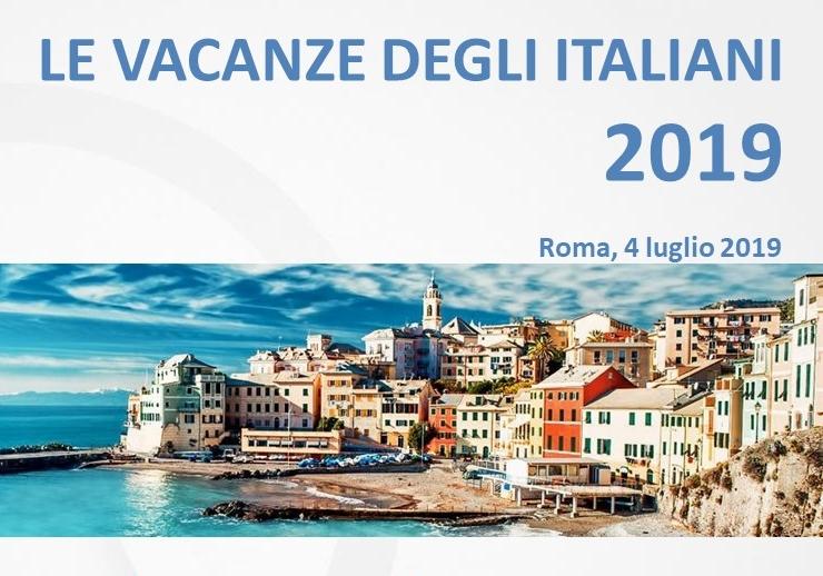 """Proiezioni. """"Le vacanze degli italiani"""": trend positivo per l'estate 2019"""