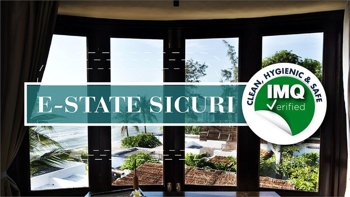 E-State sicuri: con IMQ l'ospitalità è sicura e certificata