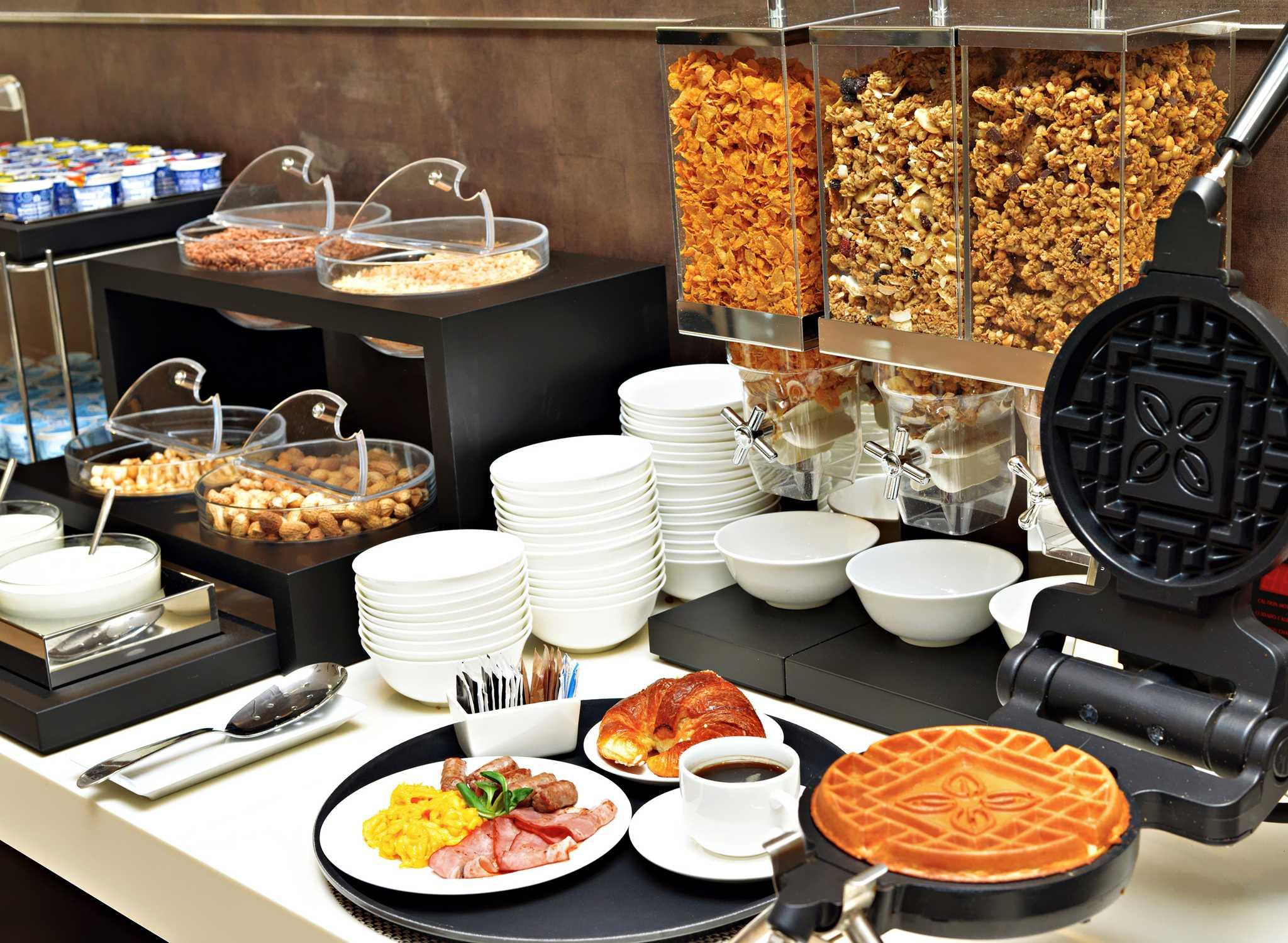 """Il 1° Breakfast Challenge """"La Sfida"""" ideato per ospiti con Stili Alimentari Diversi"""