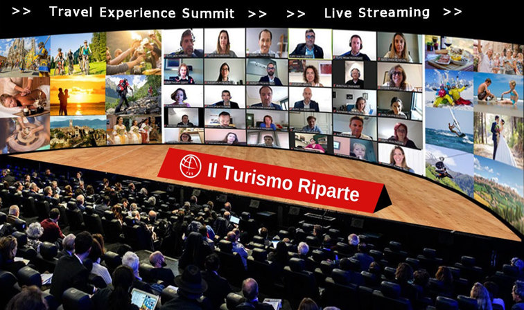 Con Travel Experience Summit, evento globale dell'Ospitalità, il turismo riparte