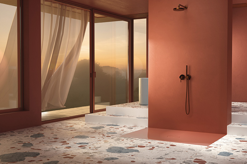 Piatto doccia o piastrella? BetteAir,si nota solo se lo vuoi