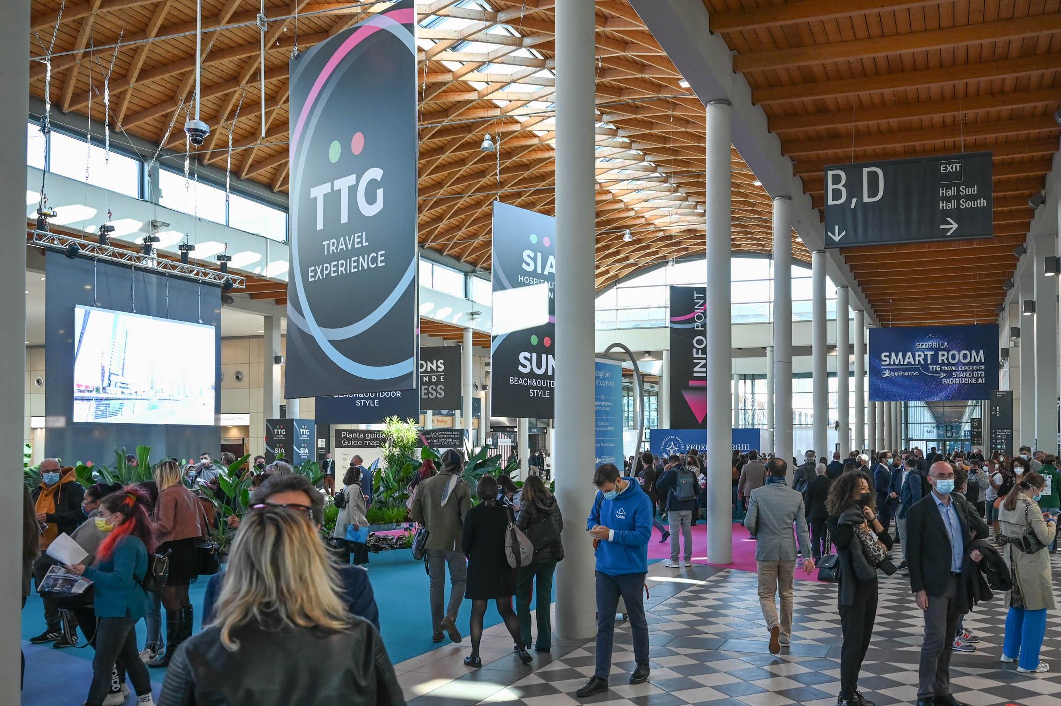 Al SIA Hospitality Design e a TTG rinasce la fiducia nel turismo